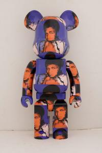 Gallery Image of Be@rbrick Andy Warhol's Muhammad Ali 1000% Collectible Figure
