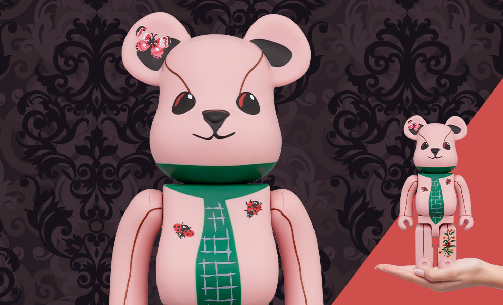 Gallery Feature Image of Be@rbrick Nathalie Lété Ours a la cravate 400% Collectible Figure - Click to open image gallery