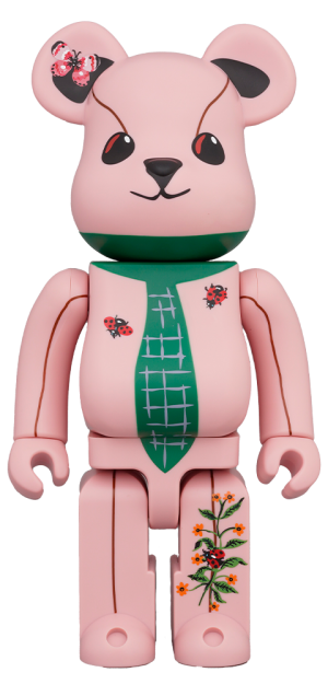Be@rbrick Nathalie Lété Ours a la cravate 400% Collectible Figure