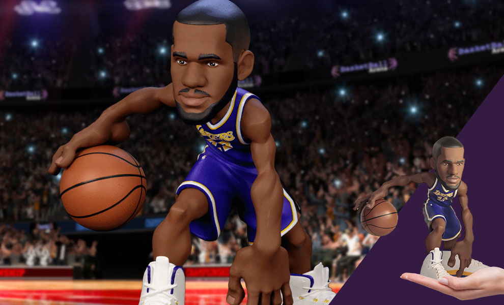 Gallery Feature Image of LeBron James SmALL-STARS Collectible Figure - Click to open image gallery
