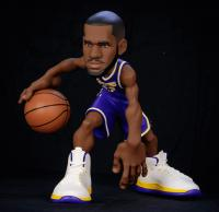 Gallery Image of LeBron James SmALL-STARS Collectible Figure