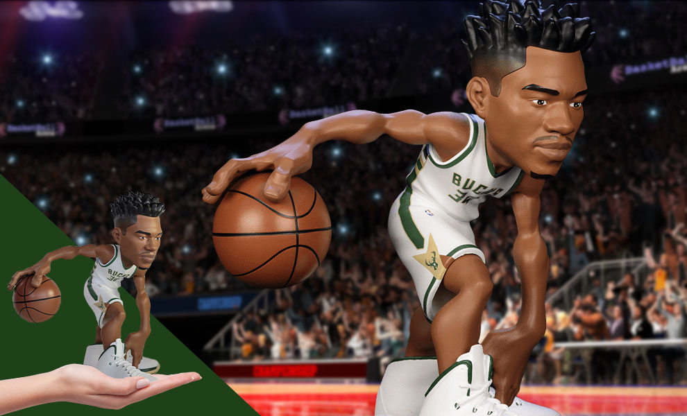 Gallery Feature Image of Giannis Antetokounmpo SmALL-STARS Collectible Figure - Click to open image gallery