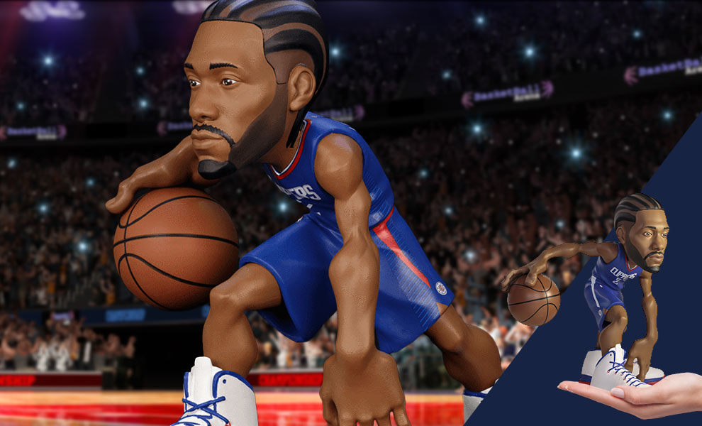 Gallery Feature Image of Kawhi Leonard SmALL-STARS Collectible Figure - Click to open image gallery