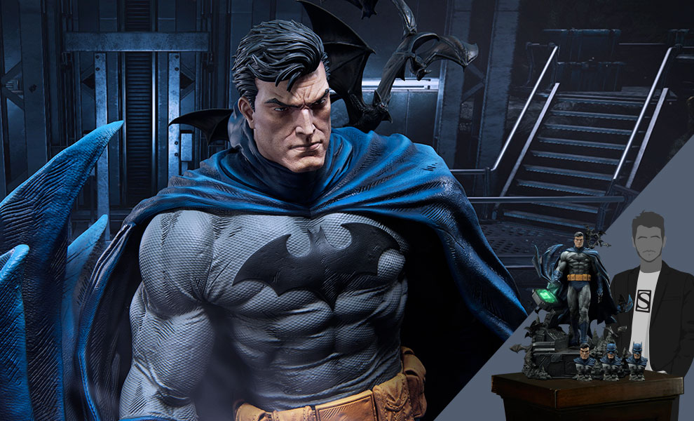 Gallery Feature Image of Batman Batcave Deluxe Version Statue - Click to open image gallery