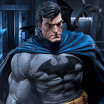 Batman Batcave Deluxe Version Statue