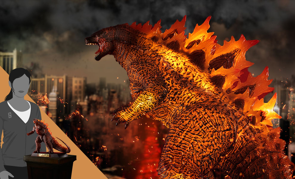 Gallery Feature Image of UA Monsters Burning Godzilla Collectible Figure - Click to open image gallery