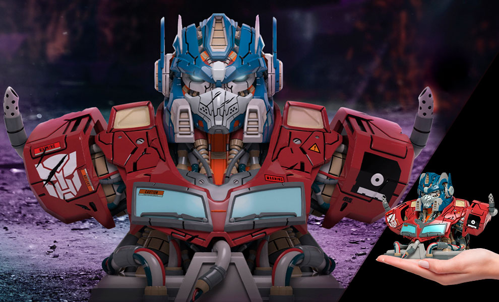 Gallery Feature Image of Mechasoul Optimus Prime Bust - Click to open image gallery