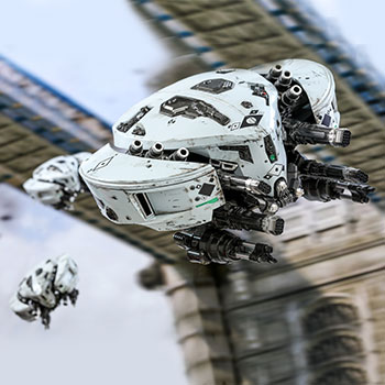 Mysterio's Drones Accessories Set
