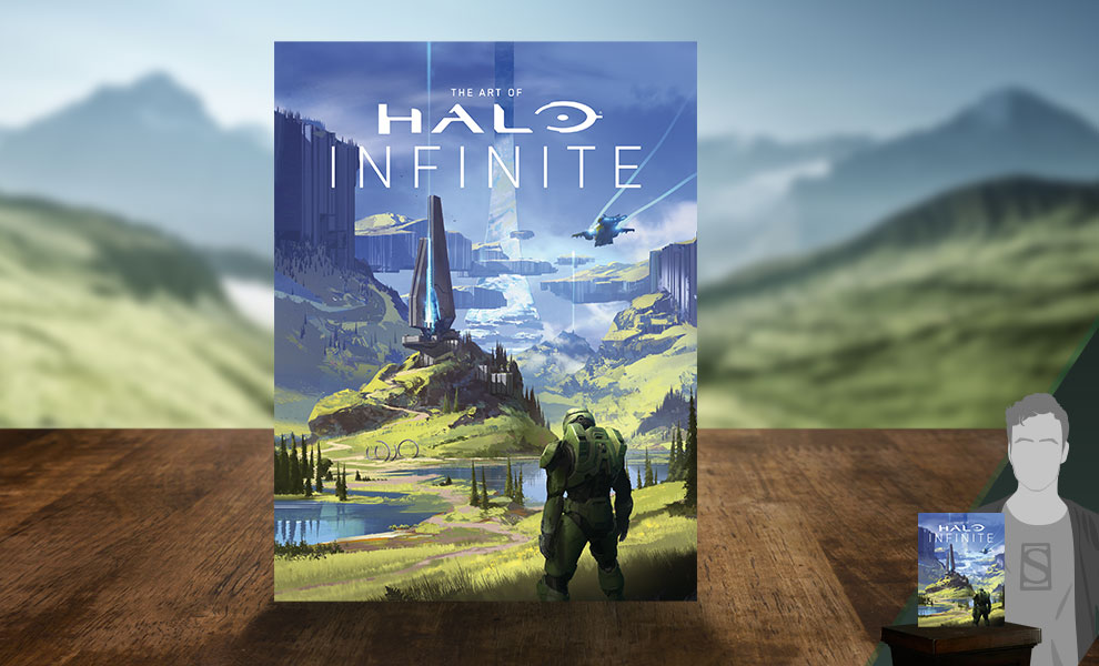 Gallery Feature Image of The Art of Halo Infinite (Limited Edition) Book - Click to open image gallery