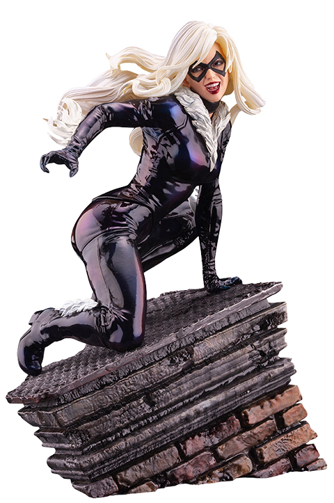 Kotobukiya Black Cat Statue