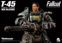 Gallery Image of T-45 NCR Salvaged Power Armor Sixth Scale Figure