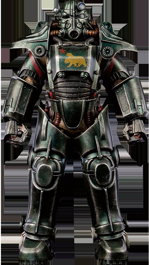 Threezero T-45 NCR Salvaged Power Armor Sixth Scale Figure