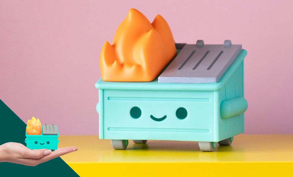 Gallery Feature Image of Lil Dumpster Fire Vinyl Collectible - Click to open image gallery