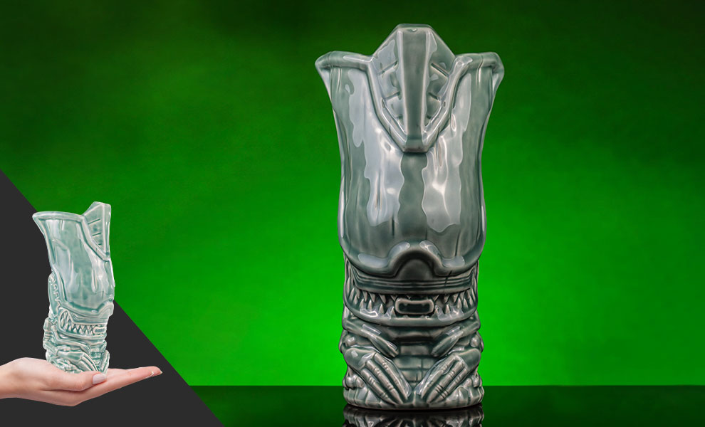 Gallery Feature Image of Alien Queen (Acid Blood Variant) Tiki Mug - Click to open image gallery