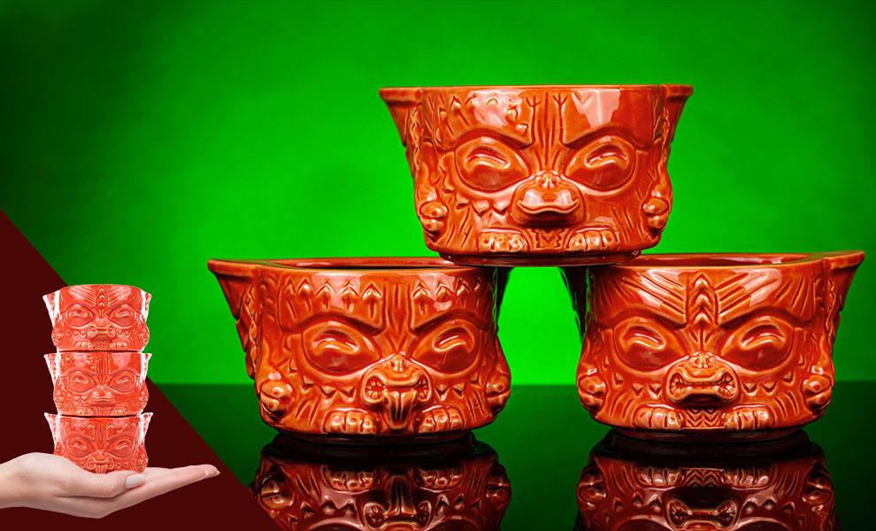 Gallery Feature Image of Gremlins Mogwai (Yum Yum Variant Stackers) Tiki Mug - Click to open image gallery