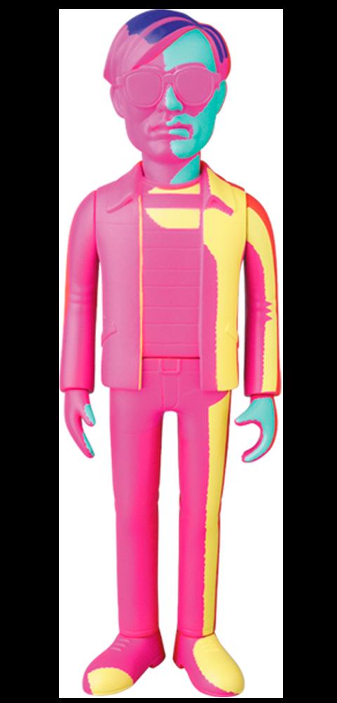 Medicom Toy Andy Warhol Silkscreen Variant 2020 Ver. Vinyl Collectible