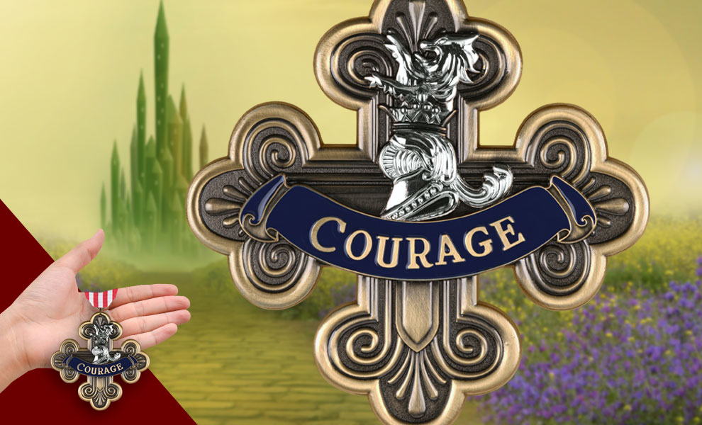 Gallery Feature Image of Courage Medal Replica - Click to open image gallery