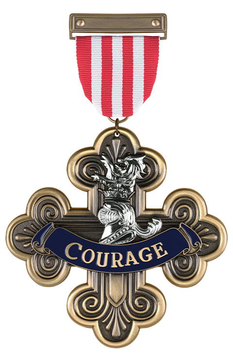 Ikon Design Studio Courage Medal Replica