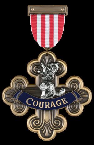 Courage Medal Replica