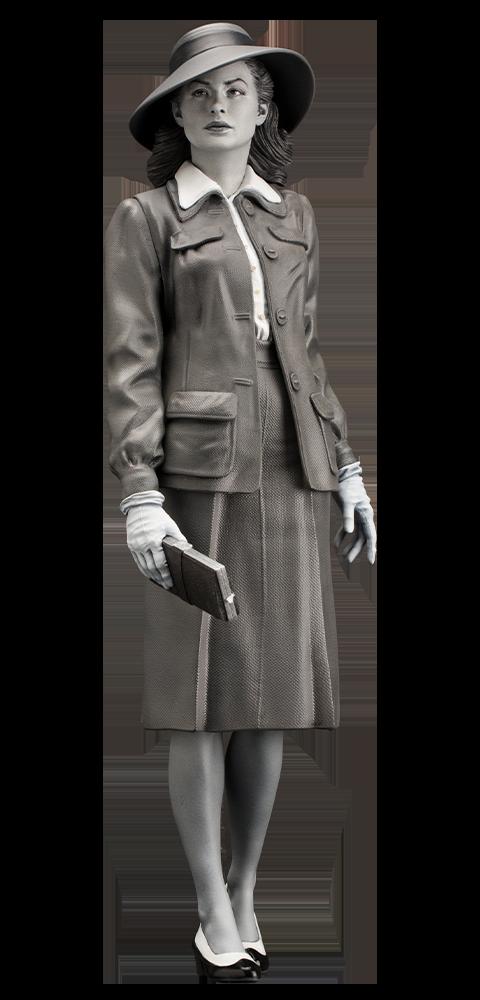 Infinite Statue Ingrid Bergman Statue