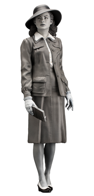 Ingrid Bergman Statue