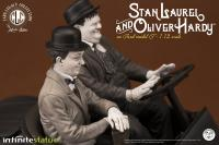 Gallery Image of Laurel & Hardy on Ford Model T Statue