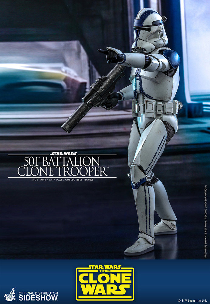 Sideshow 1//6 Scale STAR WARS Clone Trooper  501 ST  2.0  Perfect Arm Armor