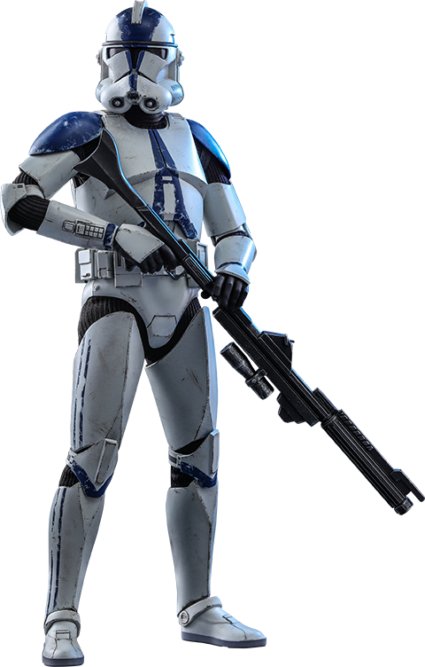 Hot Toys 501st Battalion Clone Trooper Sixth Scale Figure