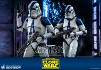 Gallery Image of 501st Battalion Clone Trooper (Deluxe) Sixth Scale Figure by Hot Toys Sixth Scale Figure