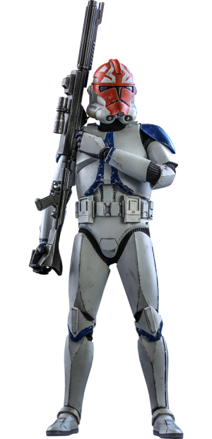 501st Battalion Clone Trooper (Deluxe) Sixth Scale Figure by Hot Toys Sixth Scale Figure