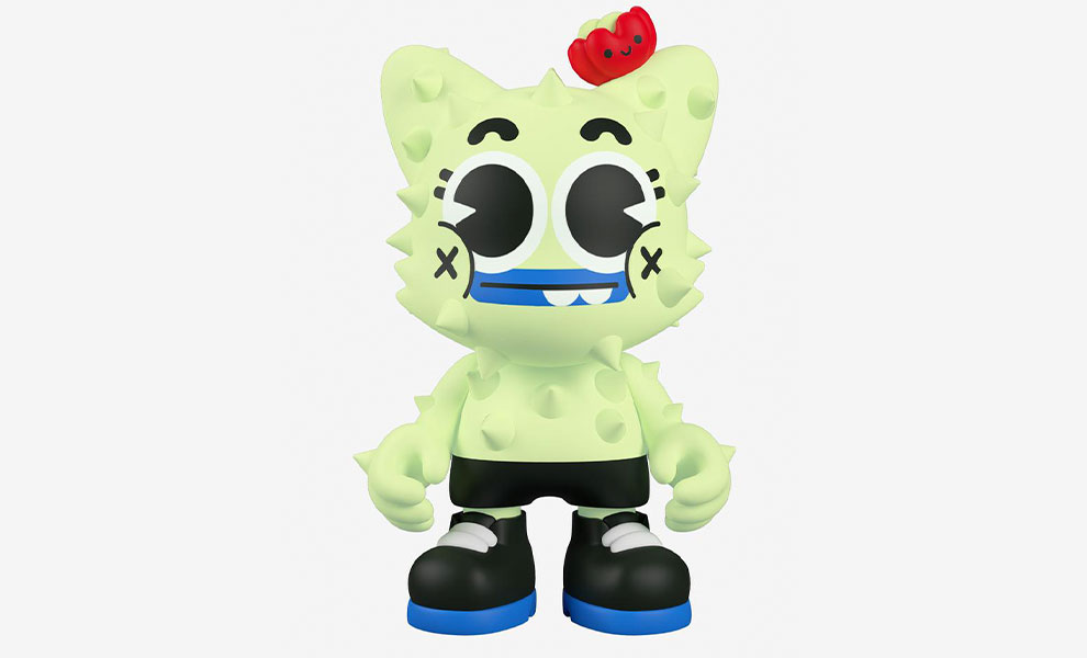 Gallery Feature Image of Glow-in-the-Dark Nopalito SuperJanky Designer Collectible Toy - Click to open image gallery