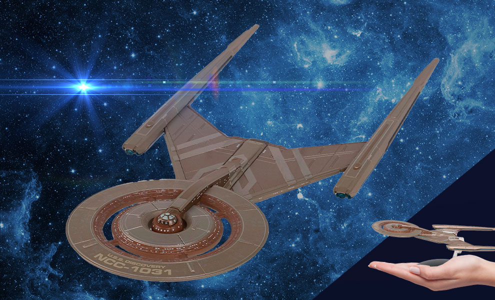 Gallery Feature Image of U.S.S. Discovery Model - Click to open image gallery