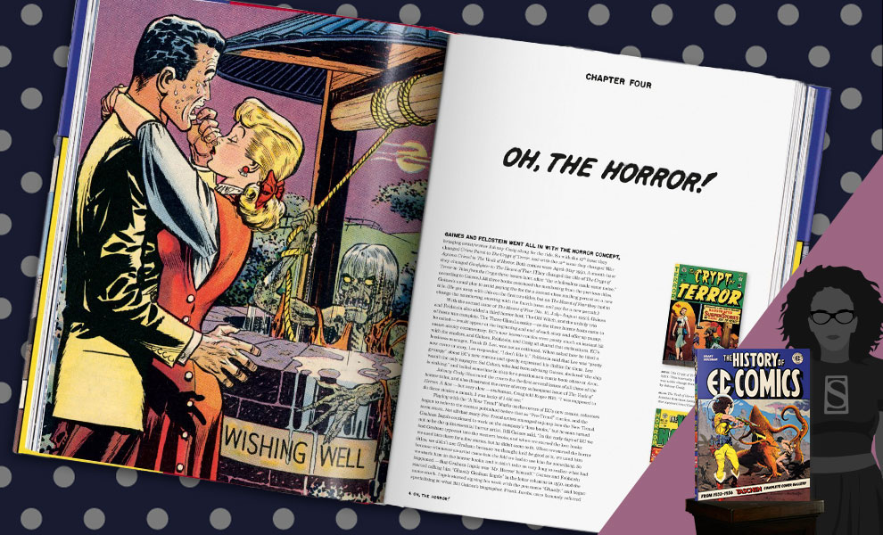 Gallery Feature Image of The History of EC Comics Book - Click to open image gallery