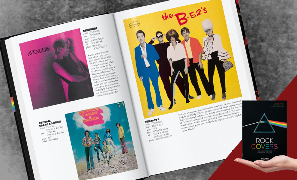 Gallery Feature Image of Rock Covers – 40th Anniversary Edition Book - Click to open image gallery