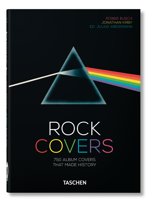 TASCHEN Rock Covers – 40th Anniversary Edition Book