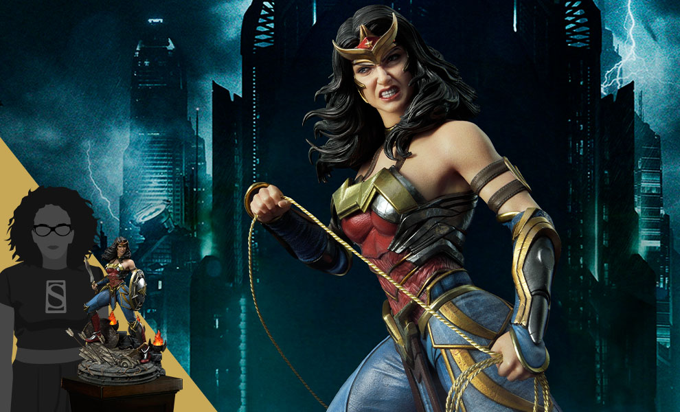 Gallery Feature Image of Wonder Woman (Deluxe Version) Statue - Click to open image gallery