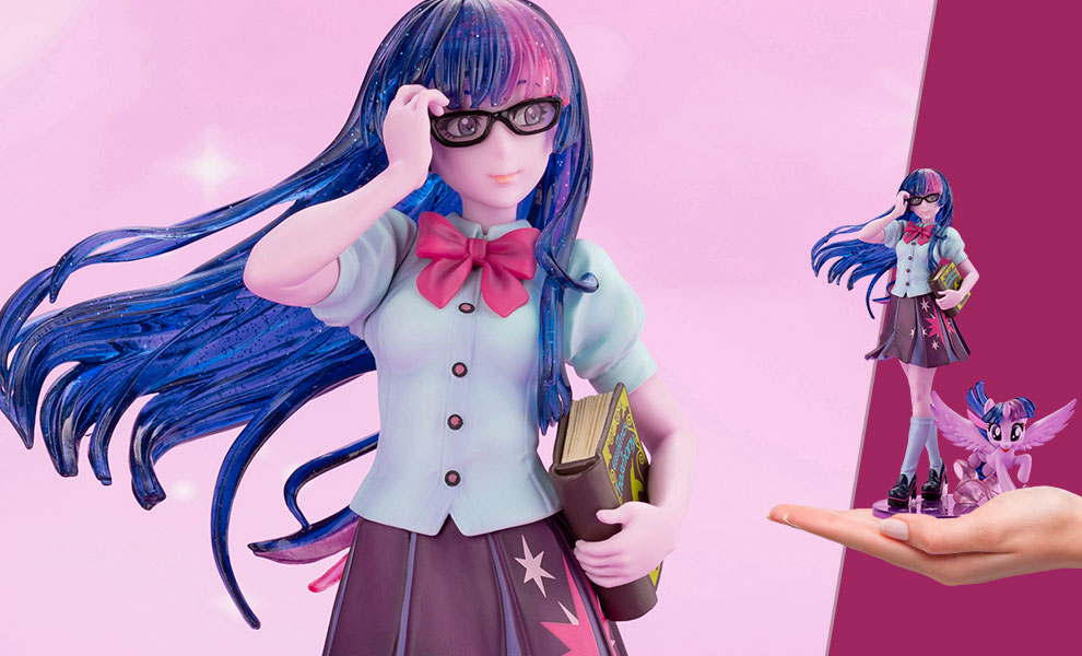 Gallery Feature Image of Twilight Sparkle Bishoujo Statue - Click to open image gallery