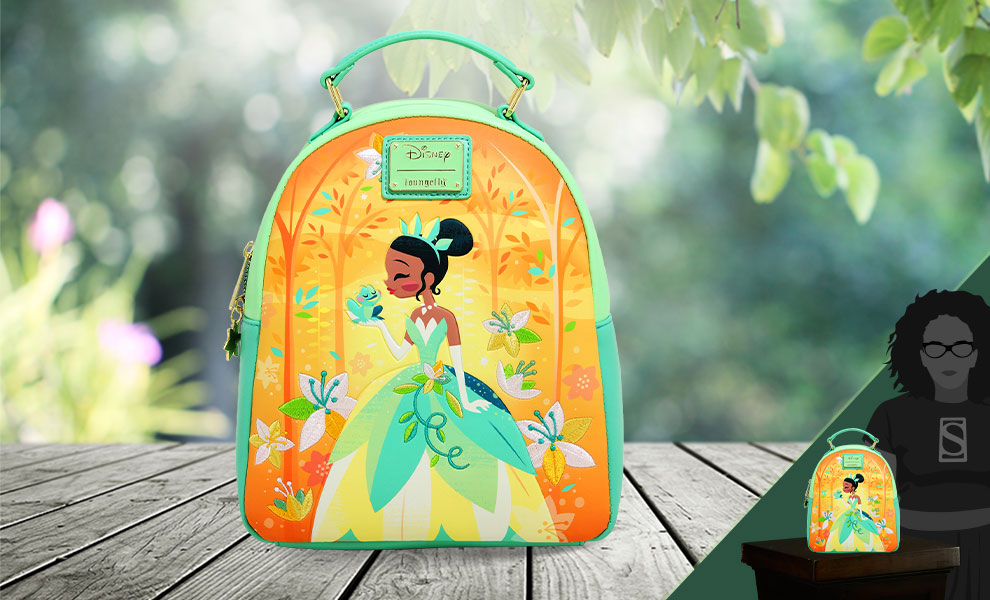 Gallery Feature Image of Tiana Mini Backpack Apparel - Click to open image gallery