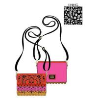 Gallery Image of Coco Diecut Party Flags Crossbody Apparel