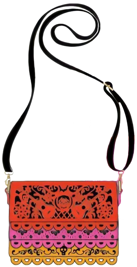 Loungefly Coco Diecut Party Flags Crossbody Apparel