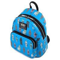 Gallery Image of Star Wars Action Figure Mini Backpack Apparel