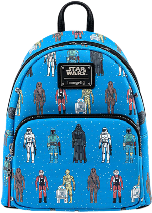 Star Wars Action Figure Mini Backpack Apparel