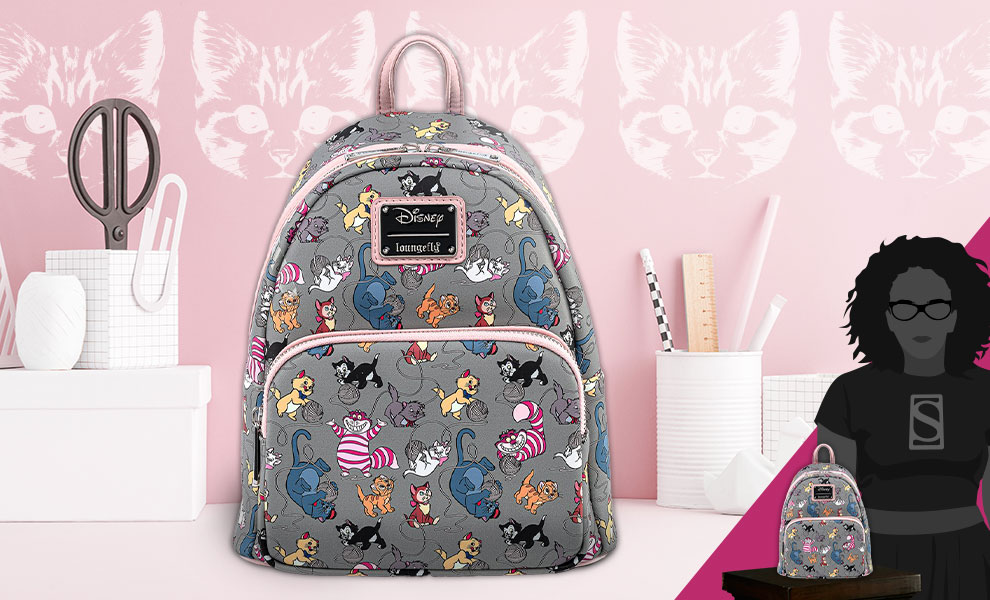 Gallery Feature Image of Disney Cats Mini Backpack Apparel - Click to open image gallery