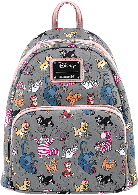 Loungefly Disney Cats Mini Backpack Apparel