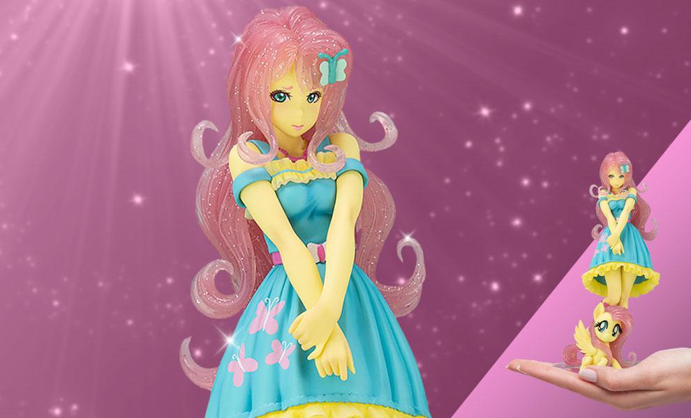 Gallery Feature Image of Fluttershy Bishoujo Statue - Click to open image gallery