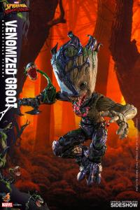 Gallery Image of Venomized Groot Collectible Figure