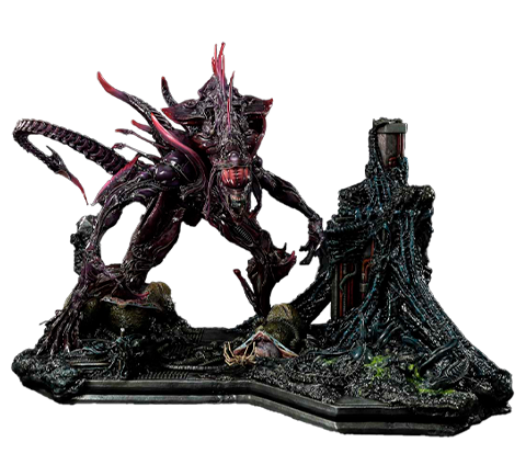Prime 1 Studio Rogue Alien Battle Diorama
