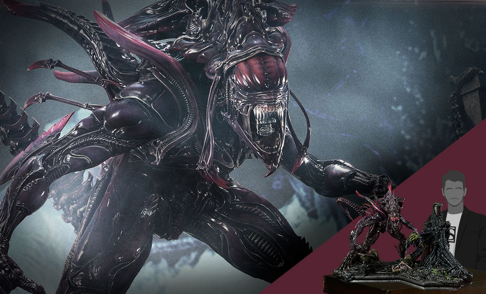 Gallery Feature Image of Rogue Alien Battle Diorama - Click to open image gallery