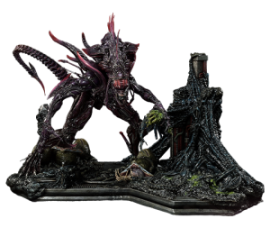 Rogue Alien Battle Diorama