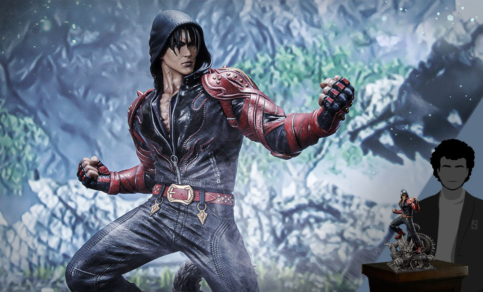 Gallery Feature Image of Jin Kazama Statue - Click to open image gallery